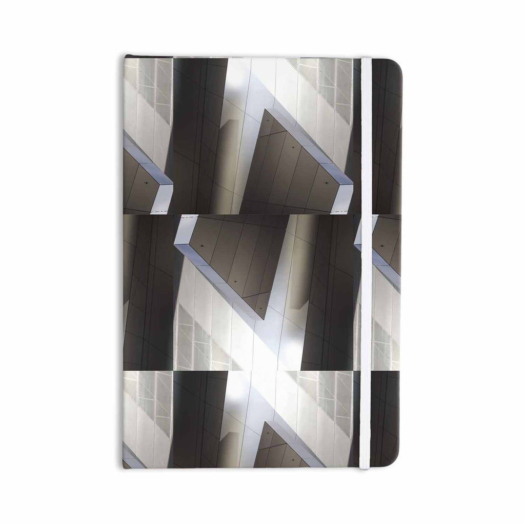 "Tiny September ""Architexture"" Gray White Photography Everything Notebook - KESS InHouse  - 1"