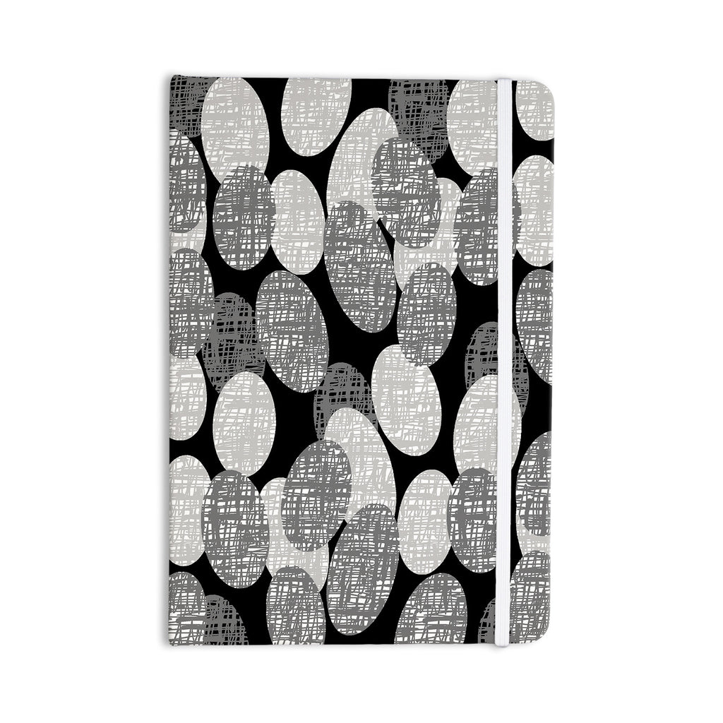 "Jacqueline Milton ""Seeds - Monochrome"" Black White Everything Notebook - KESS InHouse  - 1"