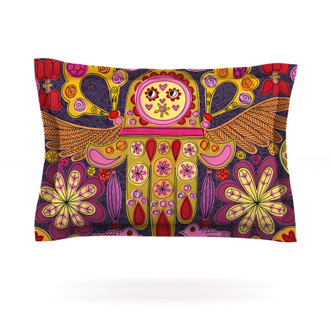 "Jane Smith ""Indian Jewelry"" Purple Yellow Pillow Sham - Outlet Item"