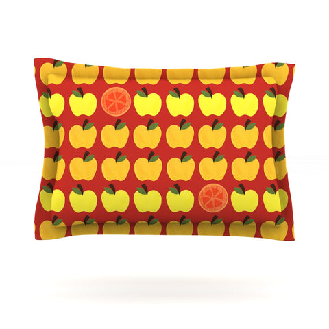 "Jane Smith ""Seasons Autumn"" Orange Red Pillow Sham - Outlet Item"