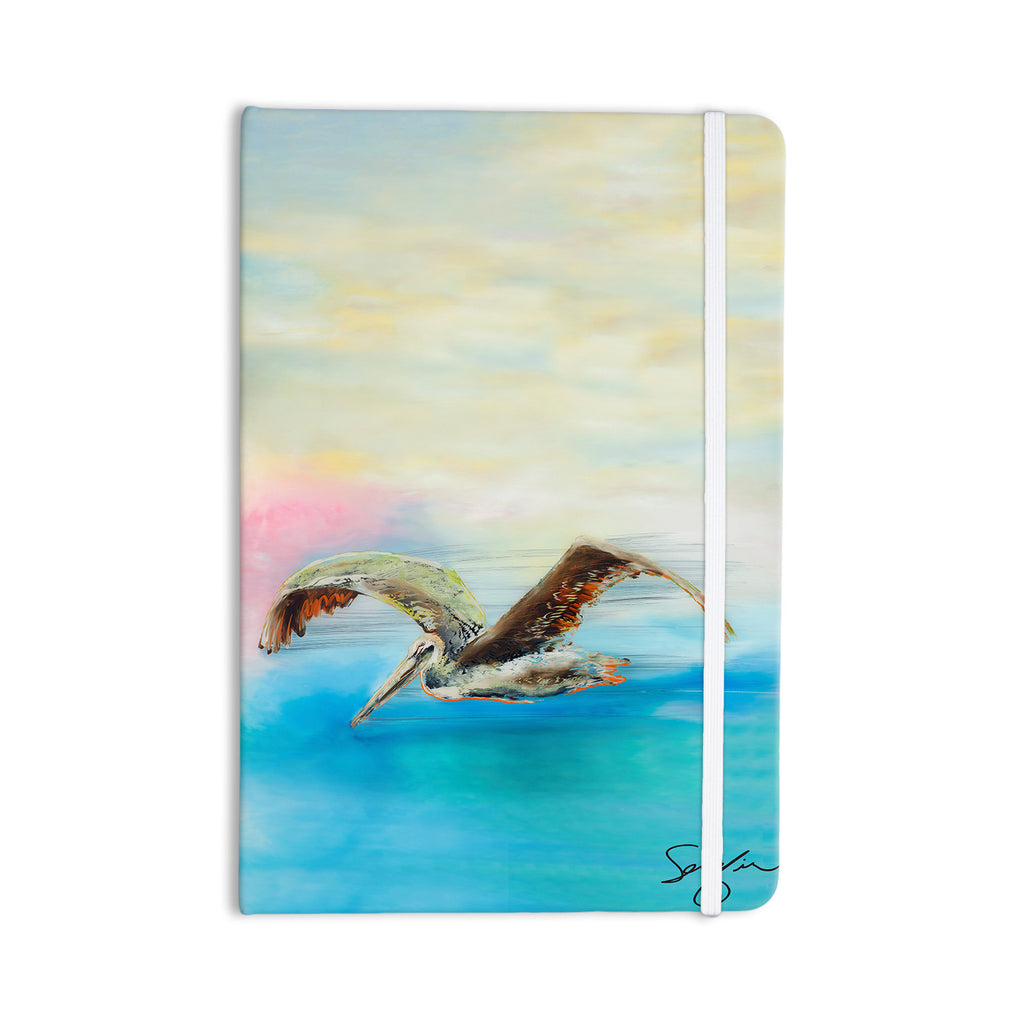 "Josh Serafin ""Coast"" Ocean Bird Everything Notebook - KESS InHouse  - 1"