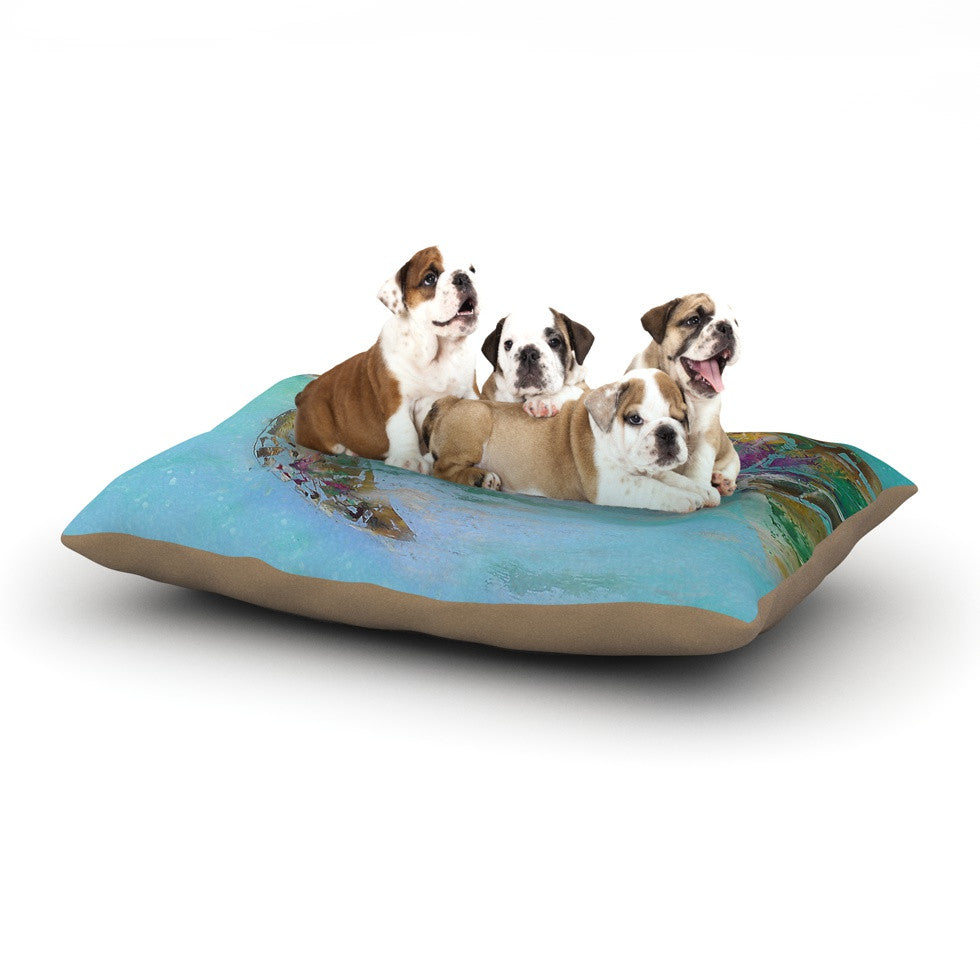 "Josh Serafin ""Mommy"" Turtle Dog Bed - KESS InHouse  - 1"