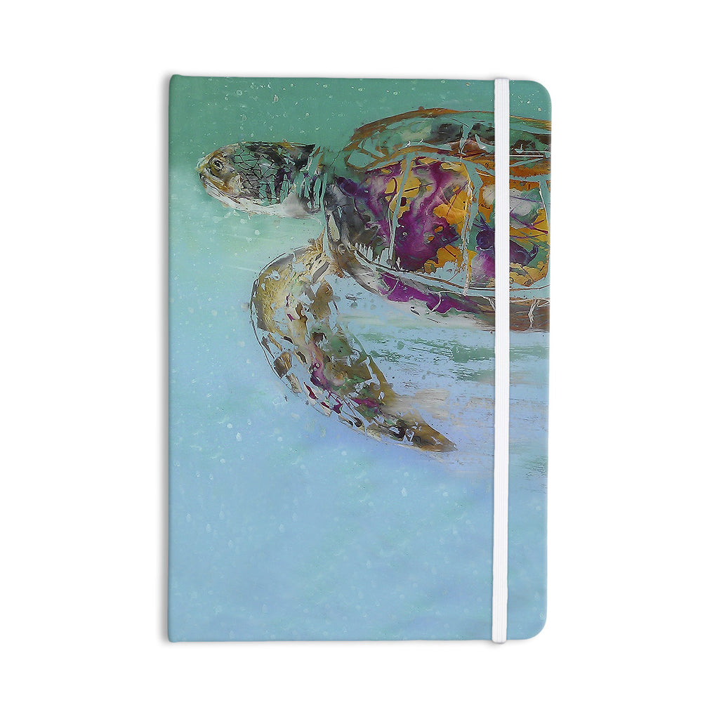 "Josh Serafin ""Mommy"" Turtle Everything Notebook - KESS InHouse  - 1"