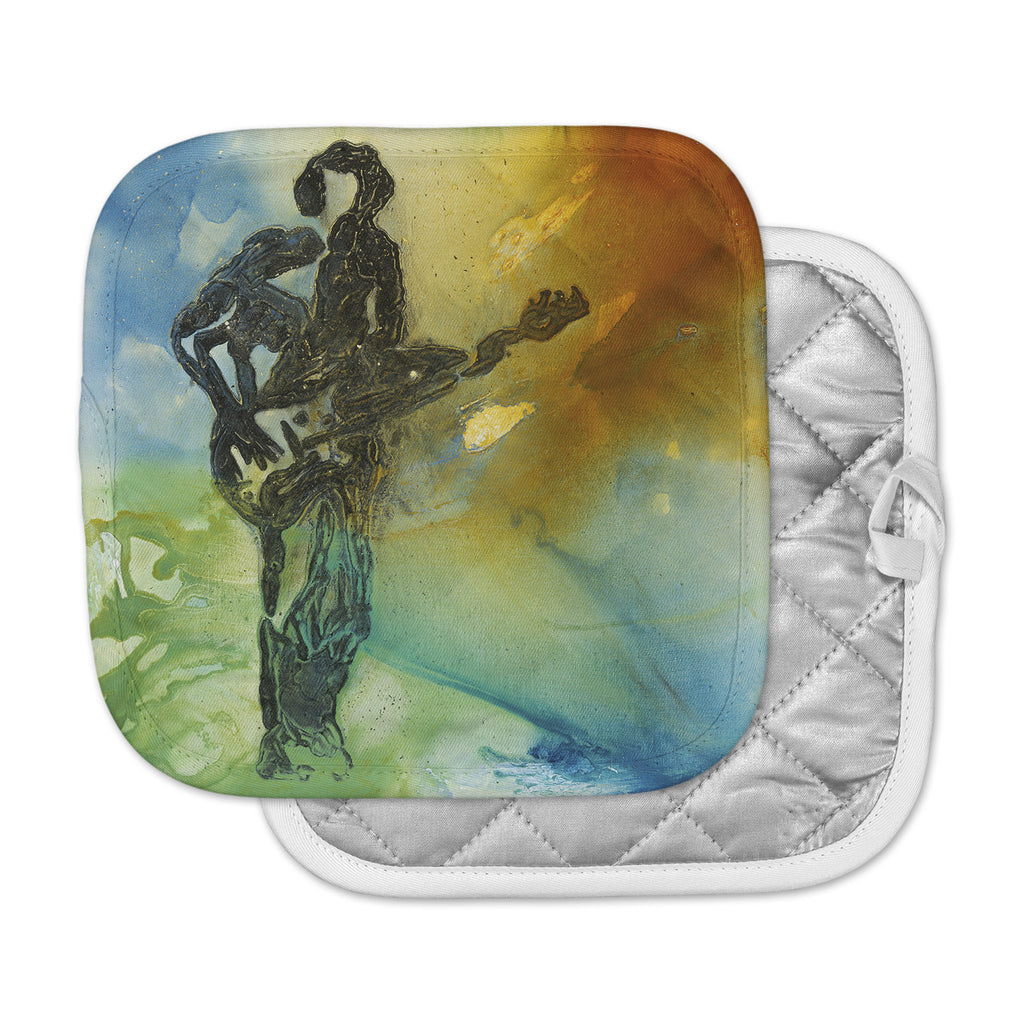 "Josh Serafin ""Rhythm"" Guitar Player Pot Holder"