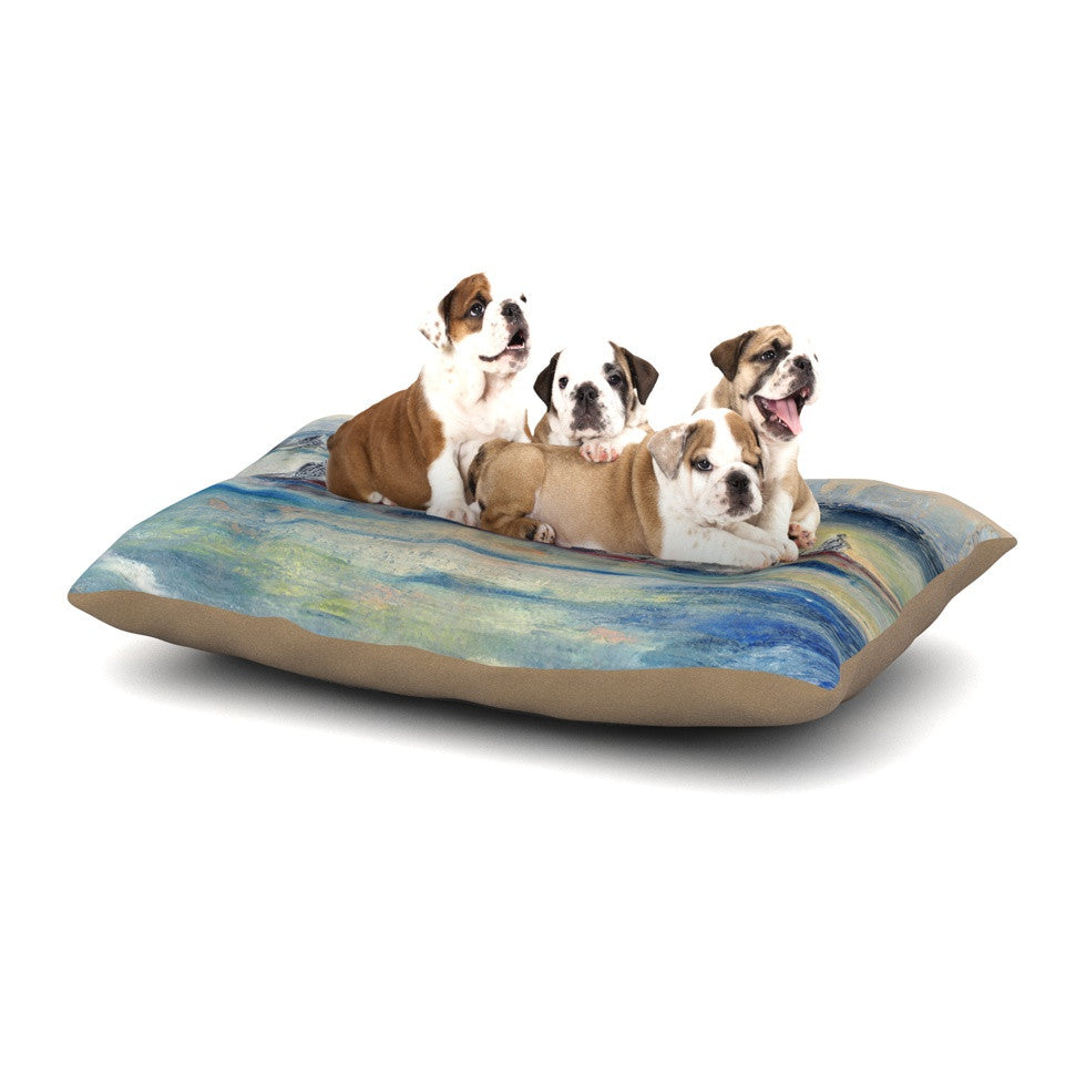 "Josh Serafin ""Crew"" Rowing Dog Bed - KESS InHouse  - 1"