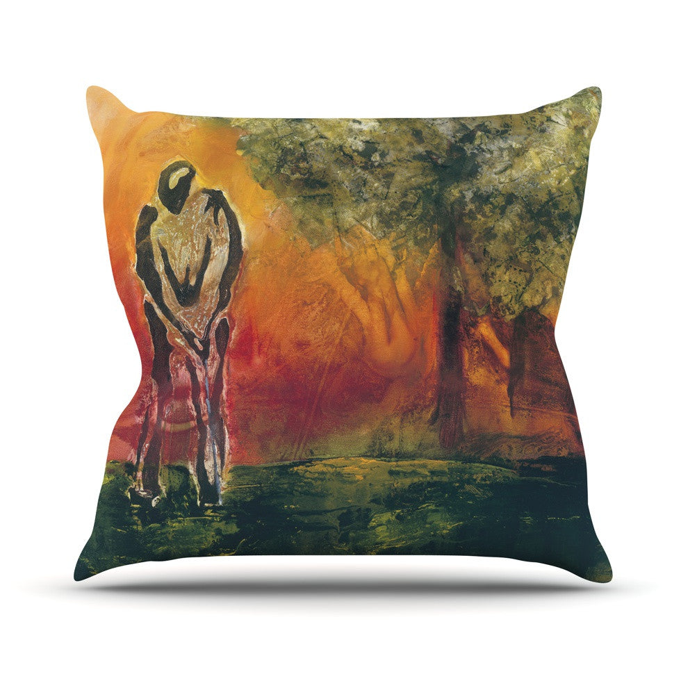"Josh Serafin ""Par"" Golf Throw Pillow - KESS InHouse  - 1"