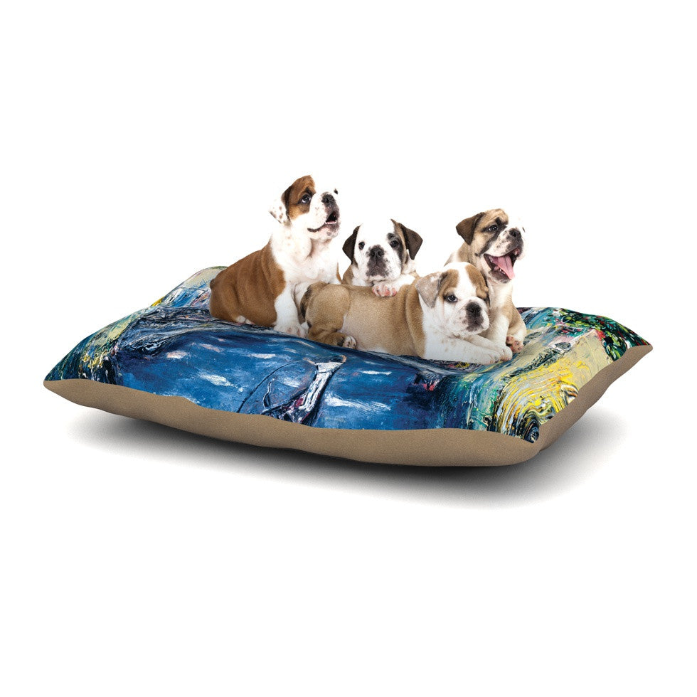"Josh Serafin ""Venice"" Travel Italy Dog Bed - KESS InHouse  - 1"