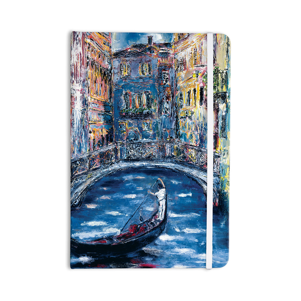 "Josh Serafin ""Venice"" Travel Italy Everything Notebook - KESS InHouse  - 1"