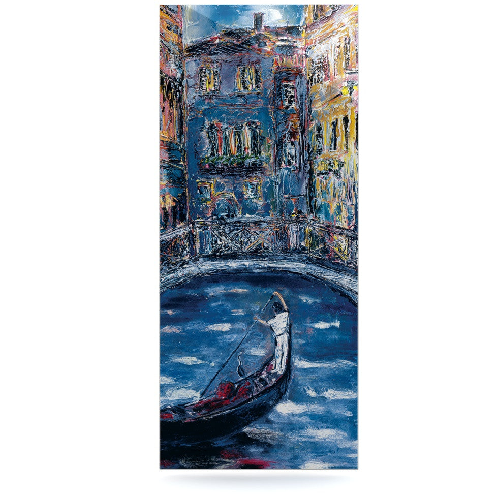 "Josh Serafin ""Venice"" Travel Italy Luxe Rectangle Panel - KESS InHouse  - 1"