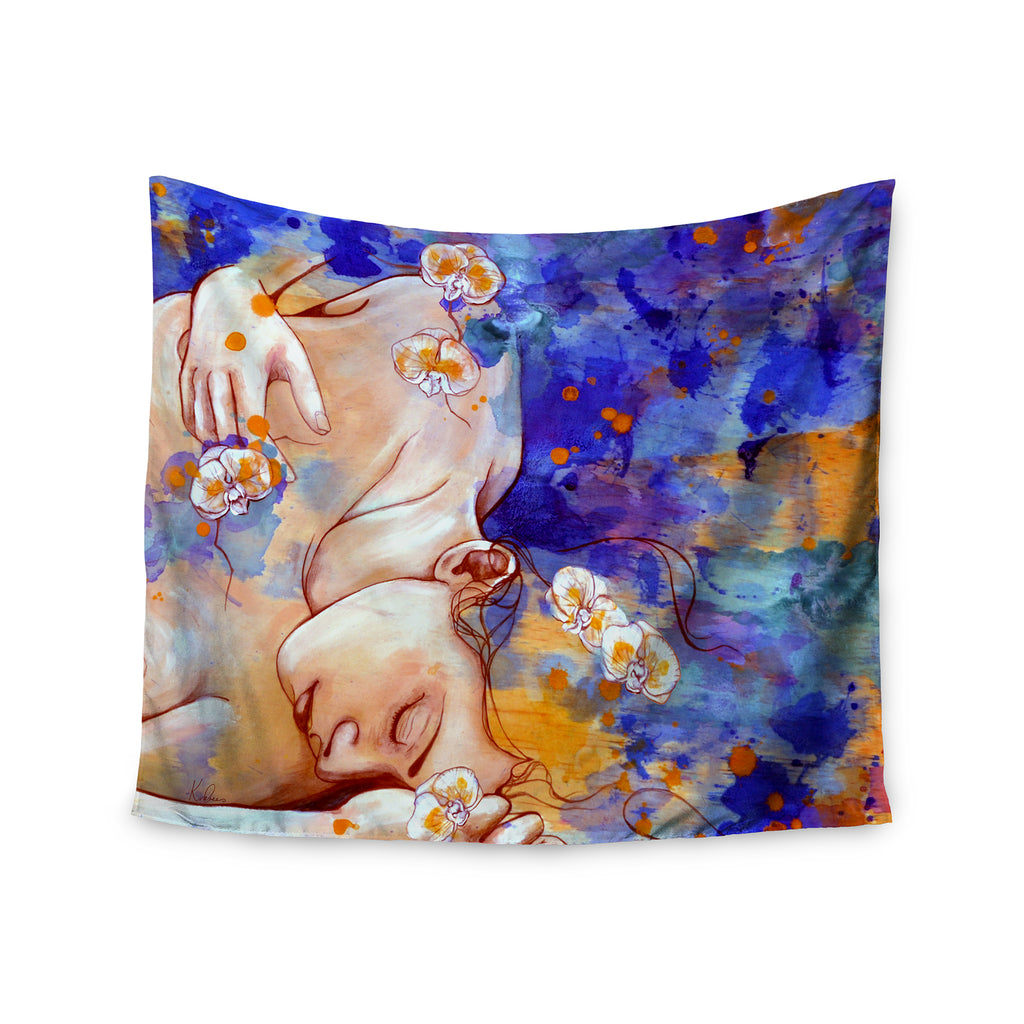 "Kira Crees ""A Deeper Sleep"" Wall Tapestry - Outlet Item"
