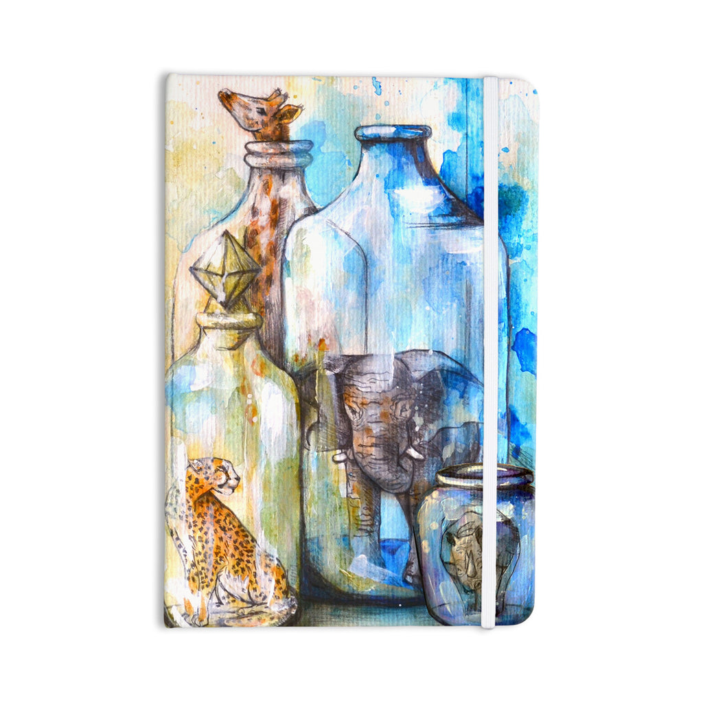 "Kira Crees ""Bottled Animals"" Everything Notebook - KESS InHouse  - 1"