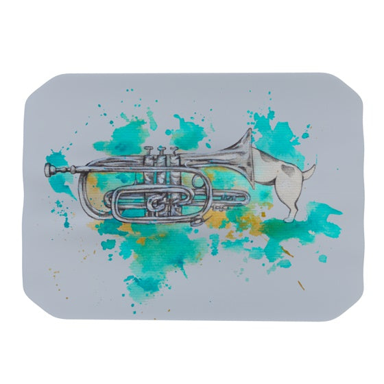 "Kira Crees ""Hunting For Jazz Blue"" Place Mat - KESS InHouse"
