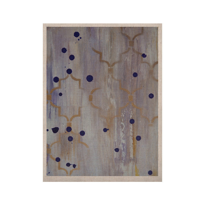 "Kira Crees ""Lush"" Gray Blue KESS Naturals Canvas (Frame not Included) - KESS InHouse  - 1"