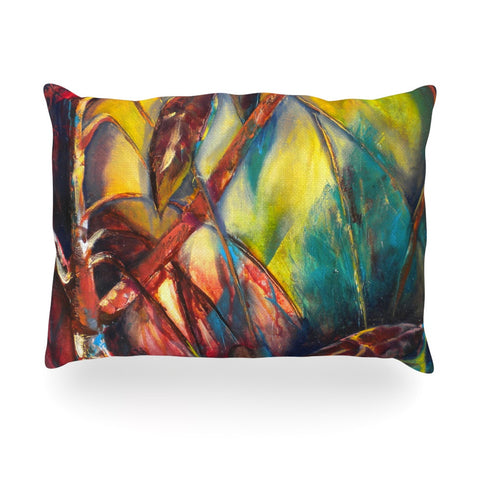 "Kristin Humphrey ""Growth"" Oblong Pillow - KESS InHouse"