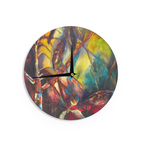 "Kristin Humphrey ""Growth"" Wall Clock - KESS InHouse"