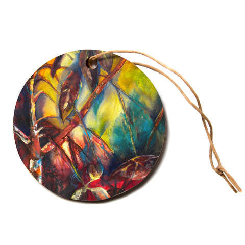 "Kristin Humphrey ""Growth""  Circle Holiday Ornament"
