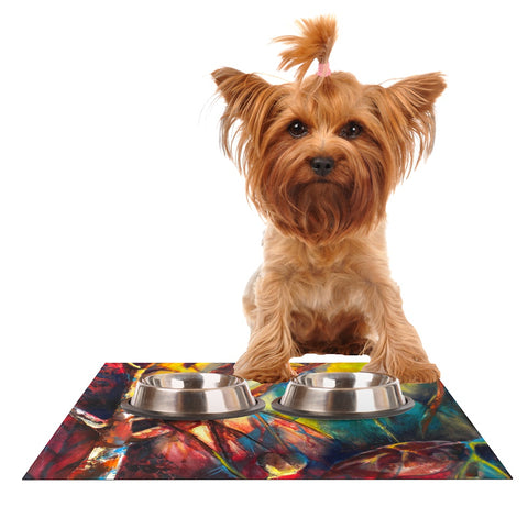 "Kristin Humphrey ""Growth"" Dog Place Mat - Outlet Item"