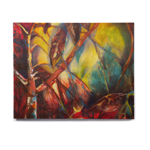 "Kristin Humphrey ""Growth"" Birchwood Wall Art - KESS InHouse  - 1"
