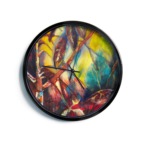 "Kristin Humphrey ""Growth""  Modern Wall Clock"