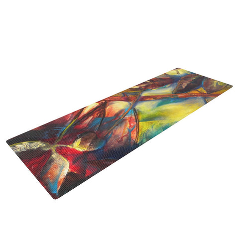 "Kristin Humphrey ""Growth"" Yoga Mat - KESS InHouse  - 1"