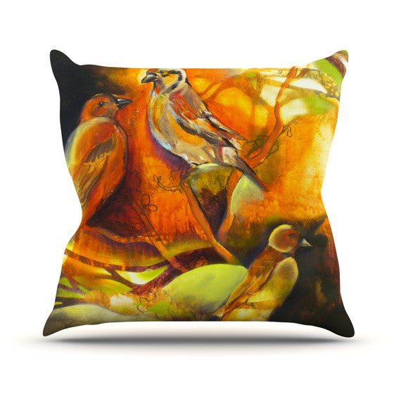 "Kristin Humphrey ""Reflecting Light"" Throw Pillow - KESS InHouse"