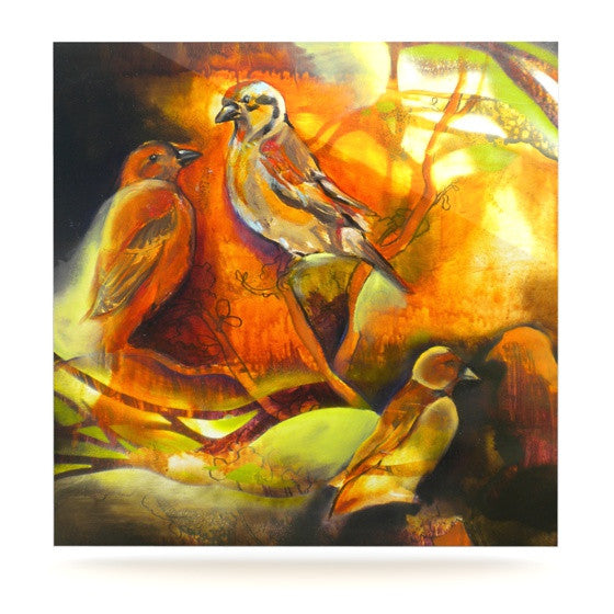 "Kristin Humphrey ""Reflecting Light"" Luxe Square Panel - KESS InHouse  - 1"