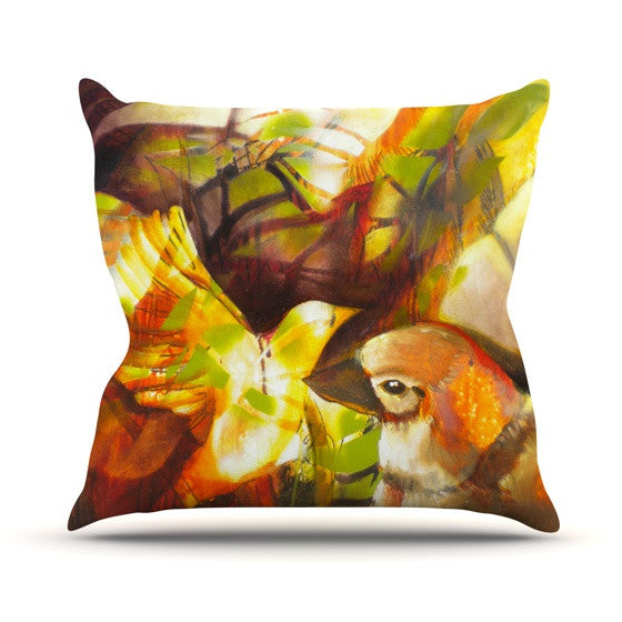 "Kristin Humphrey ""Memory"" Throw Pillow - KESS InHouse  - 1"