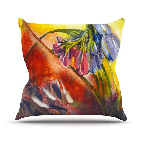 "Kristin Humphrey ""Progression"" Throw Pillow - KESS InHouse  - 1"