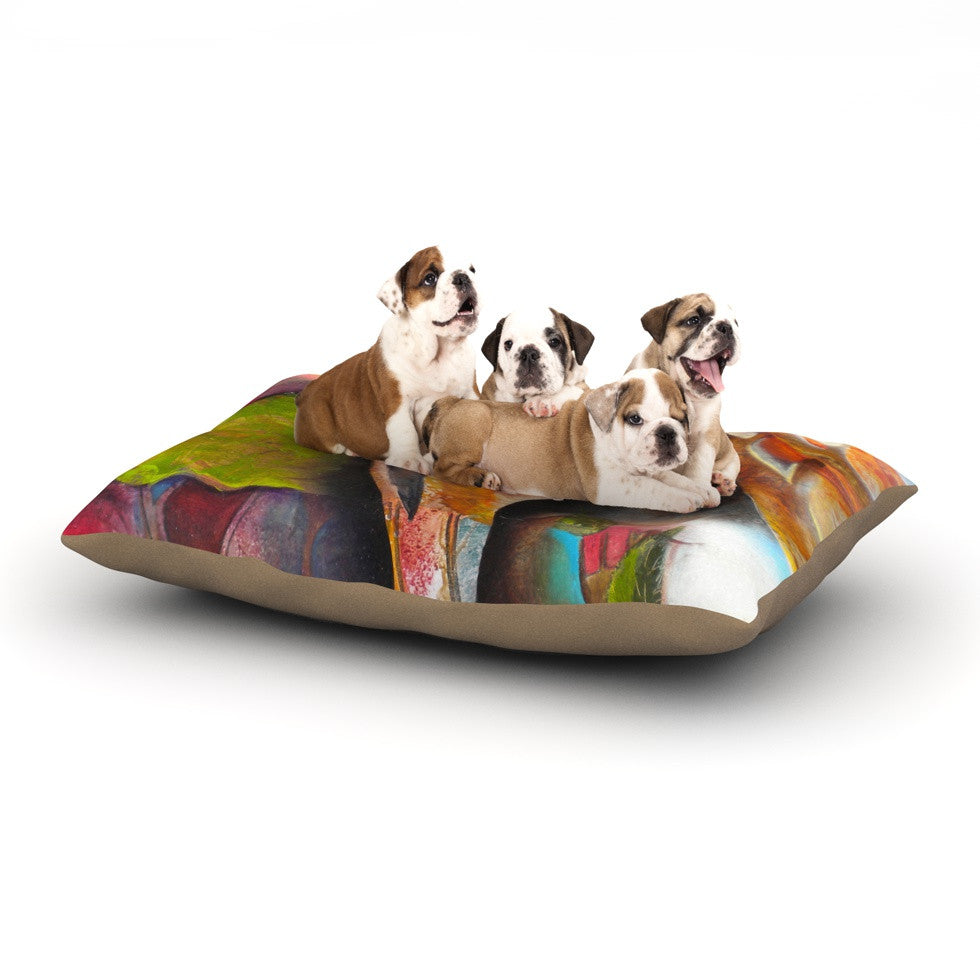 "Kristin Humphrey ""Glimpse"" Dog Bed - KESS InHouse  - 1"