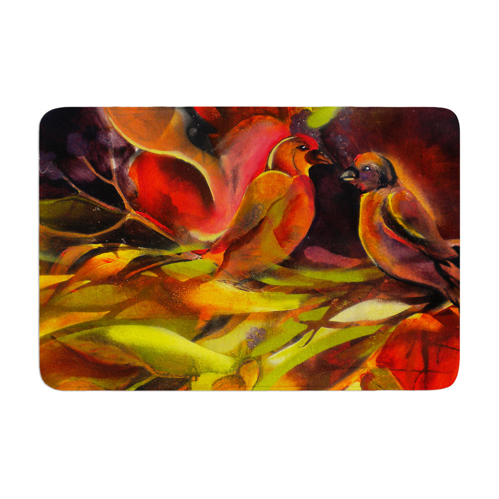 "Kristin Humphrey ""Mirrored in Nature"" Memory Foam Bath Mat - KESS InHouse"