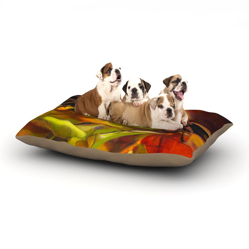 "Kristin Humphrey ""Mirrored in Nature"" Dog Bed - KESS InHouse  - 1"