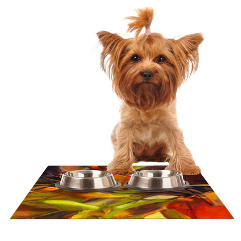 "Kristin Humphrey ""Mirrored in Nature"" Dog Place Mat - Outlet Item"