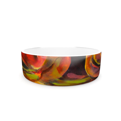 "Kristin Humphrey ""Mirrored in Nature""  Pet Bowl - Outlet Item"
