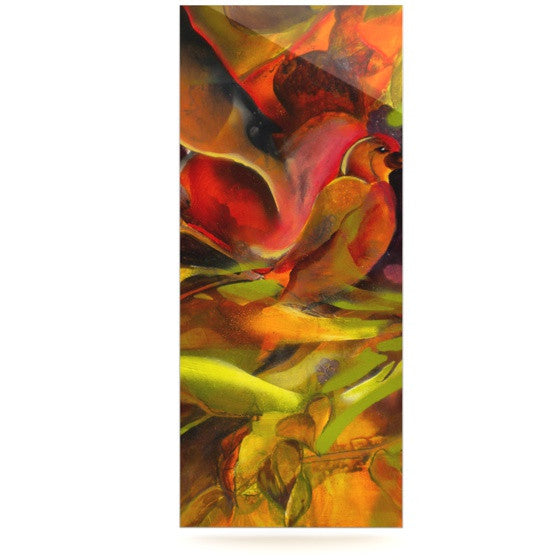 "Kristin Humphrey ""Mirrored in Nature"" Luxe Rectangle Panel - KESS InHouse  - 1"