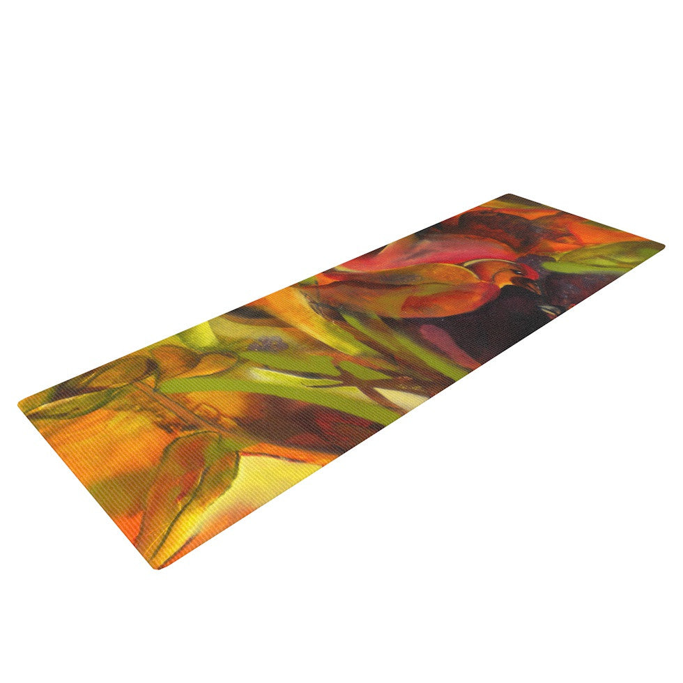 "Kristin Humphrey ""Mirrored in Nature"" Yoga Mat - KESS InHouse  - 1"