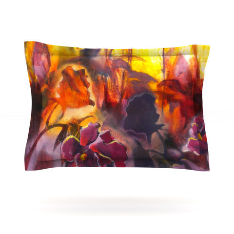 "Kristin Humphrey ""Release"" Pink Orange Pillow Sham - KESS InHouse  - 1"