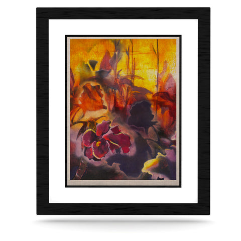 "Kristin Humphrey ""Release"" Pink Orange KESS Naturals Canvas (Frame not Included) - KESS InHouse  - 1"