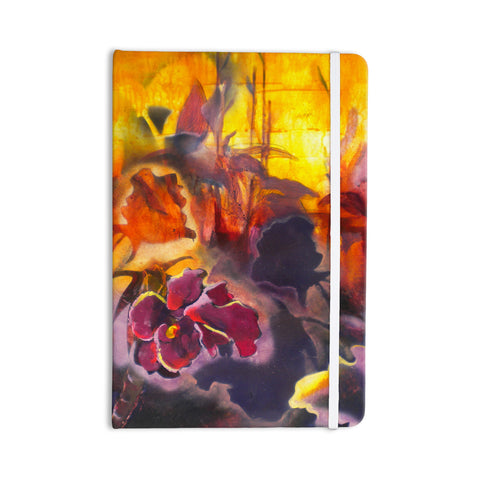 "Kristin Humphrey ""Release"" Pink Orange Everything Notebook - KESS InHouse  - 1"