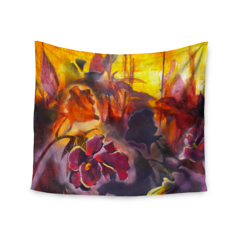 "Kristin Humphrey ""Release"" Pink Orange Wall Tapestry - KESS InHouse  - 1"