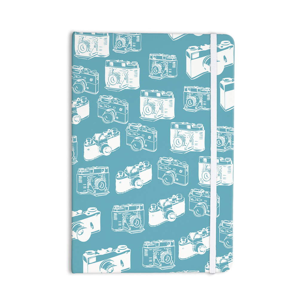 "KESS Original ""Camera Pattern"" G. Blu Everything Notebook - KESS InHouse  - 1"