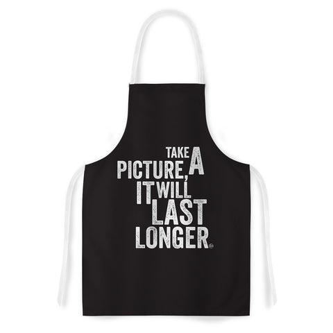 "Kess Original ""Take A Picture"" Artistic Apron Artistic Apron - Outlet Item"