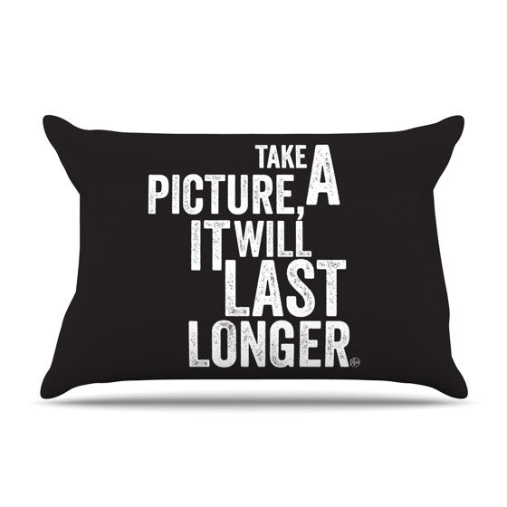 "KESS Original ""Take A Picture"" Pillow Sham - KESS InHouse"