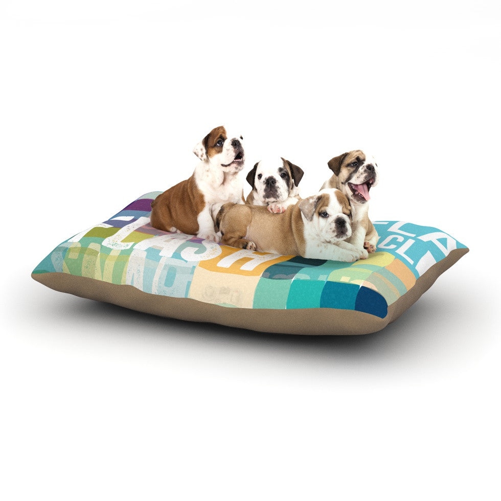 "KESS Original ""Flash"" Dog Bed - KESS InHouse  - 1"