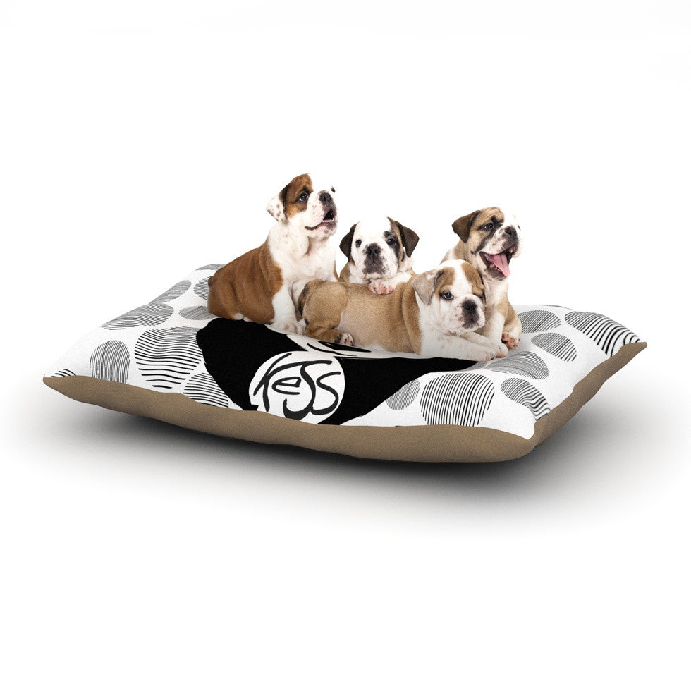 "KESS Original ""Panda"" Dog Bed - KESS InHouse  - 1"