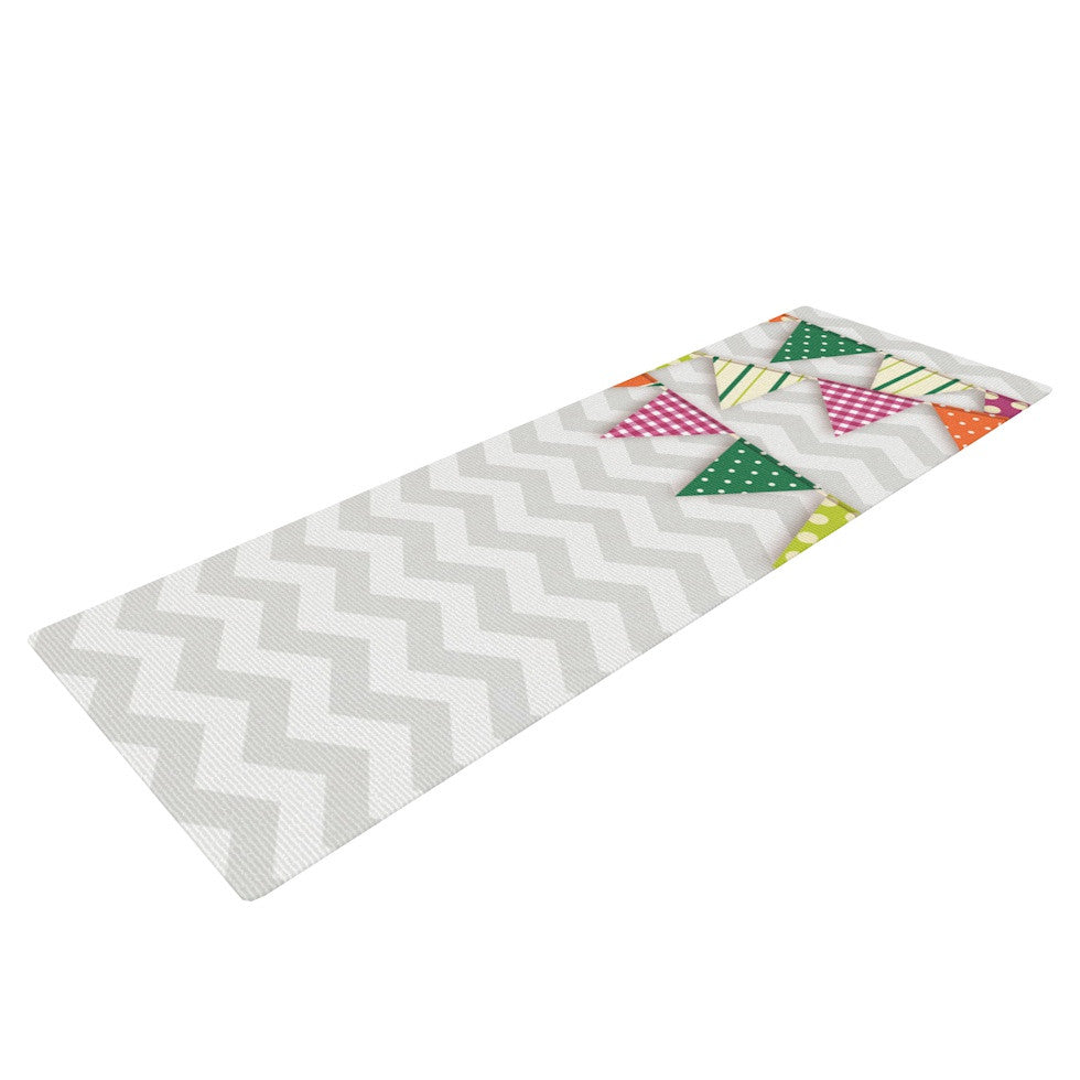 "KESS Original ""Flags 1"" Yoga Mat - KESS InHouse  - 1"