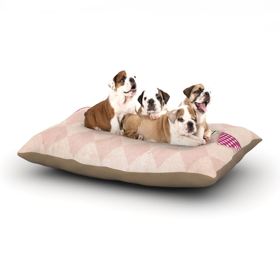 "KESS Original ""Flags 2"" Dog Bed - KESS InHouse  - 1"