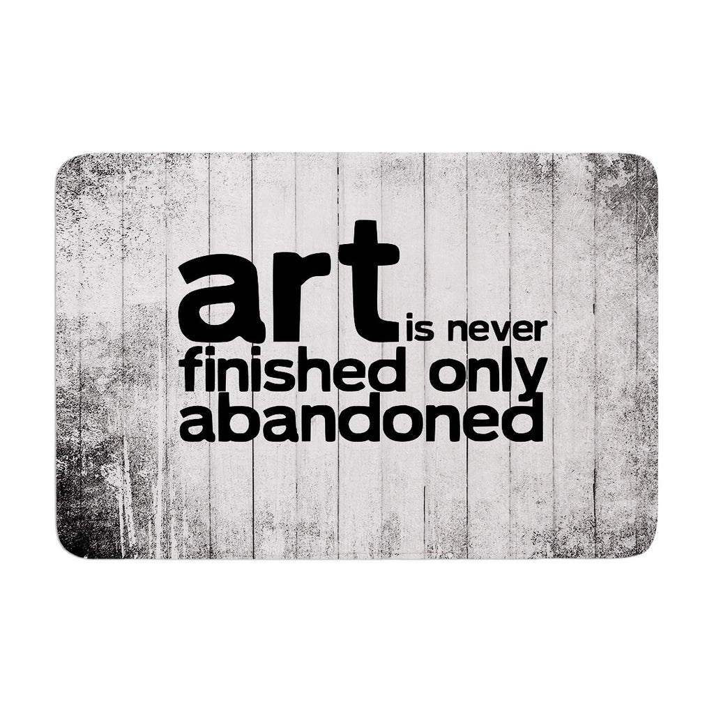 "KESS Original ""Art Never Finished"" Memory Foam Bath Mat - KESS InHouse"