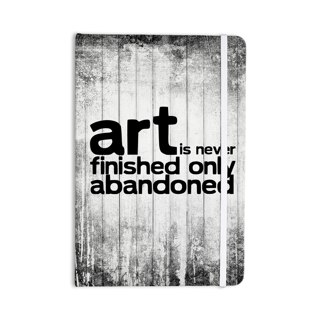 "KESS Original ""Art Never Finished"" Everything Notebook - KESS InHouse  - 1"