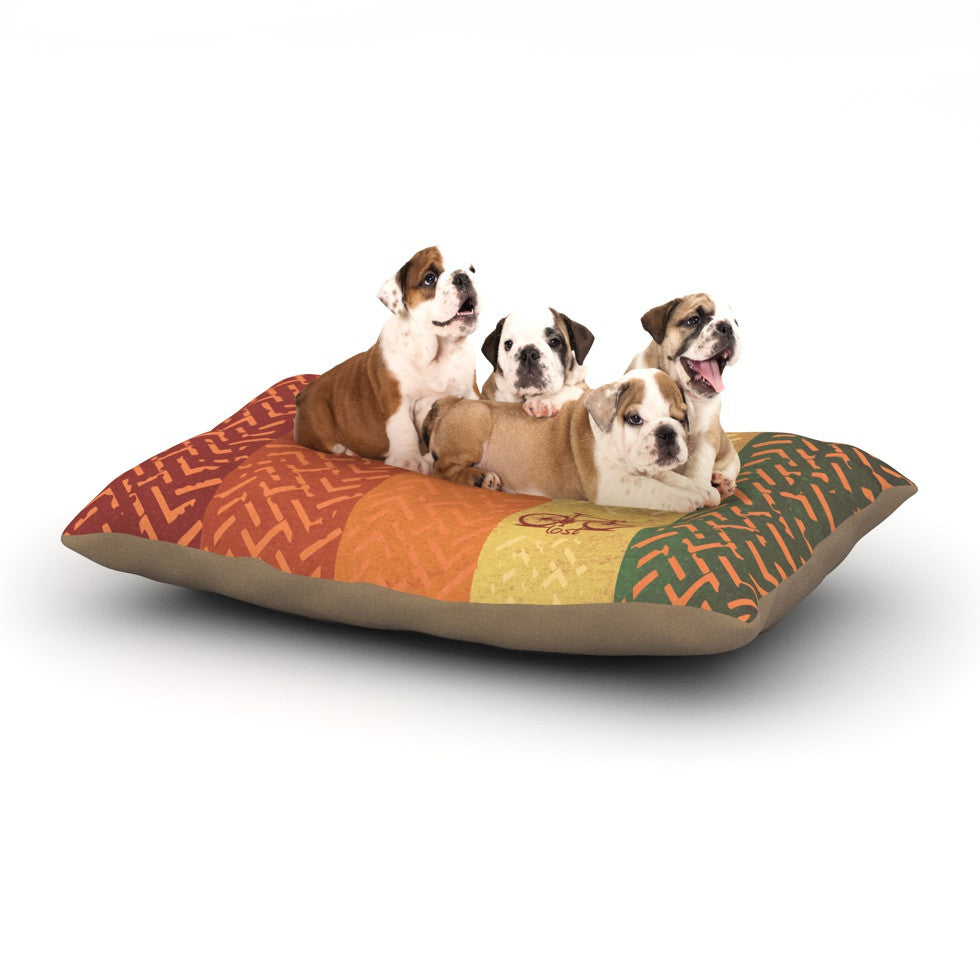 "KESS Original ""Lost"" Dog Bed - KESS InHouse  - 1"