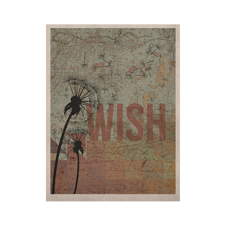 "KESS Original ""Wish"" KESS Naturals Canvas (Frame not Included) - KESS InHouse  - 1"